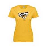 Ladies Gold T Shirt-Alumni