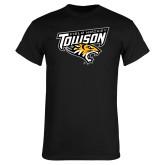 Black T Shirt-Field Hockey