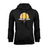 Black Fleece Hoodie-Basketball Solid Ball w/Calvert Pattern