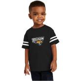 Toddler Black Jersey Tee-Primary Athletics Mark