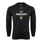 Under Armour Black Long Sleeve Tech Tee-Geometric Lacrosse Head