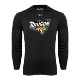 Under Armour Black Long Sleeve Tech Tee-Lacrosse