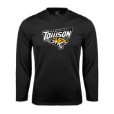 Performance Black Longsleeve Shirt-Basketball