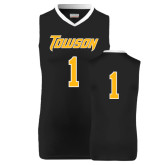 Replica Black Adult Basketball Jersey-#1
