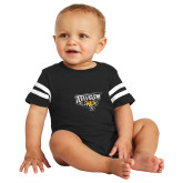 Black Jersey Onesie-Primary Athletics Mark