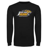Black Long Sleeve T Shirt-Own Your Roar