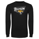 Black Long Sleeve T Shirt-Field Hockey