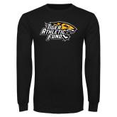 Black Long Sleeve T Shirt-Tiger Athletic Fund