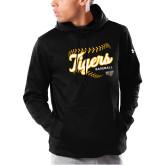 Under Armour Black Armour Fleece Hoodie-Tigers Baseball