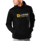 Under Armour Black Armour Fleece Hoodie-Lacross in Box