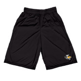Russell Performance Black 9 Inch Short w/Pockets-T w/Tiger Head