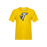 Youth Gold T Shirt-Towson T
