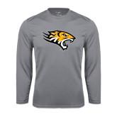 Performance Steel Longsleeve Shirt-Tiger Head