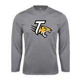 Performance Steel Longsleeve Shirt-T w/Tiger Head