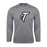 Performance Steel Longsleeve Shirt-Towson T