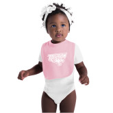 Light Pink Baby Bib-Primary Athletics Mark