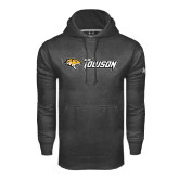 Under Armour Carbon Performance Sweats Team Hoodie-Tiger Head w/Towson Flat
