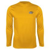 Performance Gold Longsleeve Shirt-Tiger Athletic Fund