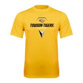 Performance Gold Tee-Geometric Lacrosse Head
