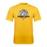Performance Gold Tee-Basketball Solid Ball w/Calvert Pattern