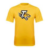 Performance Gold Tee-T w/Tiger Head