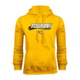 Gold Fleece Hoodie-Lacrosse Stick w/Calvert Pattern
