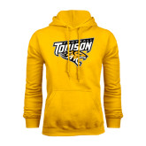 Gold Fleece Hoodie-Football
