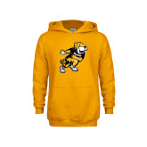 Youth Gold Fleece Hoodie-Running Youth Mark