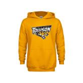 Youth Gold Fleece Hoodie-Field Hockey