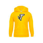 Youth Gold Fleece Hoodie-Towson T