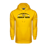 Under Armour Gold Performance Sweats Team Hoodie-Towson Tigers Football Horizontal