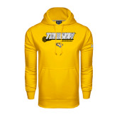 Under Armour Gold Performance Sweats Team Hoodie-Lacrosse Stick w/Calvert Pattern