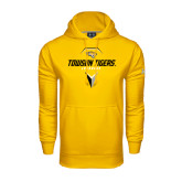 Under Armour Gold Performance Sweats Team Hoodie-Geometric Lacrosse Head