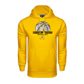 Under Armour Gold Performance Sweats Team Hoodie-Basketball Solid Ball w/Calvert Pattern