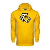 Under Armour Gold Performance Sweats Team Hoodie-T w/Tiger Head