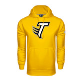 Under Armour Gold Performance Sweats Team Hoodie-Towson T