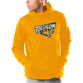 Under Armour Gold Armour Fleece Hoodie-Primary Athletics Mark