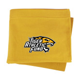 Gold Sweatshirt Blanket-Tiger Athletic Fund