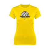 Ladies Syntrel Performance Gold Tee-Basketball Solid Ball w/Calvert Pattern