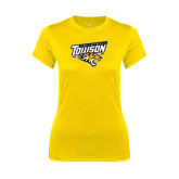 Ladies Syntrel Performance Gold Tee-Volleyball