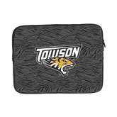 13 inch Neoprene Laptop Sleeve-Towson Charcoal Tiger Stripe