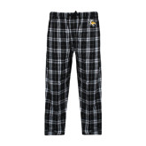 Black/Grey Flannel Pajama Pant-T w/Tiger Head