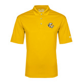 Under Armour Gold Performance Polo-T w/Tiger Head