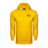 Under Armour Gold Performance Sweats Team Hoodie-Tiger Head