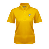 Ladies Gold Dry Mesh Polo-Towson T