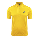 Gold Dry Mesh Polo-Towson T