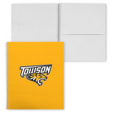 College Spiral Notebook w/Clear Coil-Primary Athletics Mark