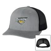 Richardson Heather Grey/Black Trucker Hat-Football