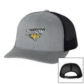 Richardson Heather Grey/Black Trucker Hat-Field Hockey
