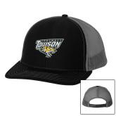 Richardson Black/Charcoal Trucker Hat-Football